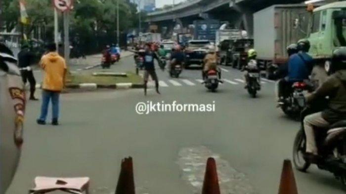 Polisi Ungkap Motif Pria di Daan Mogot, Acungkan Airsoft Gun ke Pengguna Jalan, Satpam dan Polisi