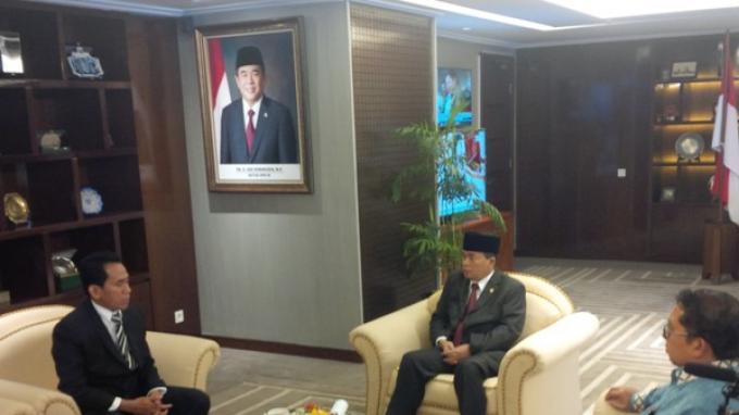 Pimpinan DPR Terima Tim Kuasa Hukum Fahri Hamzah