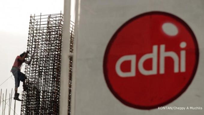 Sepanjang 2014, Adhi Karya Raih Kontrak Rp 9,2 Triliun