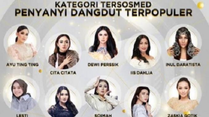 Anugerah Dangdut Indonesia 2020 Digelar, Temanya Energy of Dangdut Pioneer