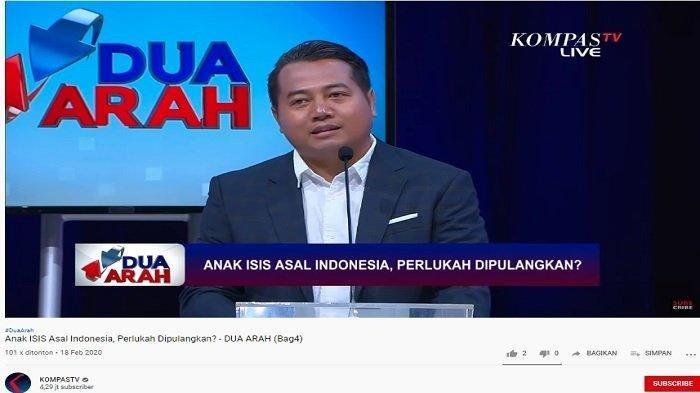 Tak Setuju Anak WNI Eks ISIS Dipulangkan, Adi Prayitno: Ngapain Diganggu Gugat, Biarkan Masuk Surga