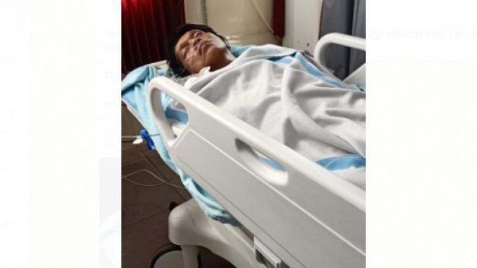 Adian Napitupulu dirawat di rumah sakit