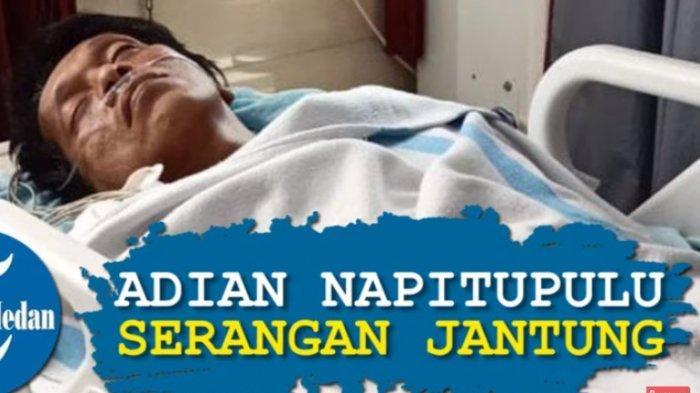 Politikus Adian Napitupulu dikabarkan alami serangan jantung di dalam pesawat, Kamis 19 Desember 2019