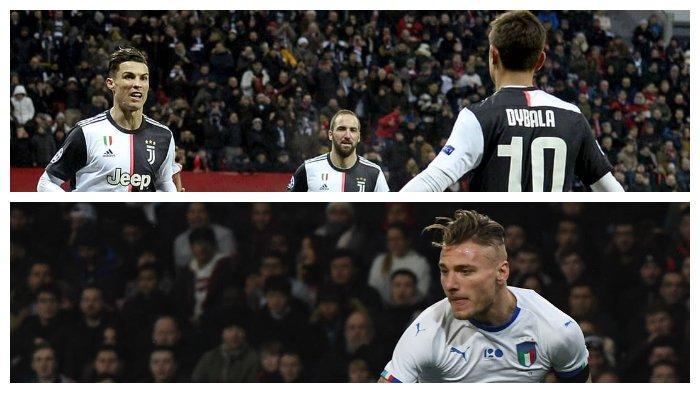 Juventus vs Lazio Supercoppa italia 2019: Adu Tajam Ciro Immobile Lawan Trio DHR