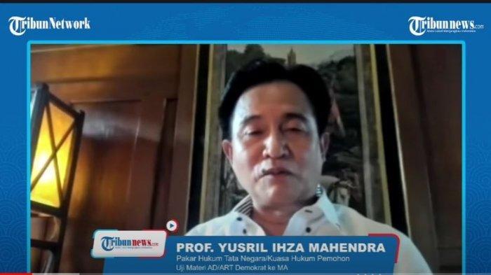 Yusril: Sempat Ada Anggota DPR Fraksi Demokrat yang Hubungi Saya, Bagaimana Jika Abang Bantu Kami?