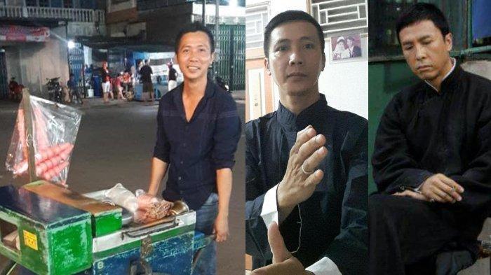 VIRAL Pria Penjual Es Mirip Aktor Donnie Yen, Rupanya Istri Idolakan sang Aktor sejak Remaja
