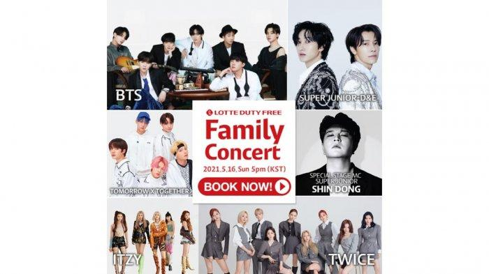 Boyong Artis Top Korea, Lotte Duty Free Siap Gelar Family Concert Ke-31