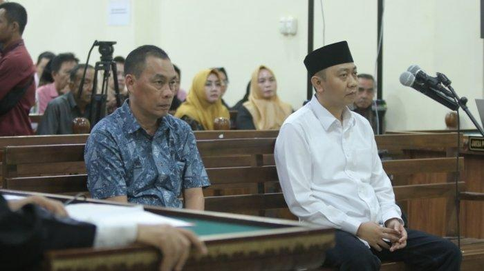Terdakwa Suap Fee Proyek Kembalikan Uang Negara, Raden Syahril Rp 6 Juta, Syahbudin Rp 2 Miliar
