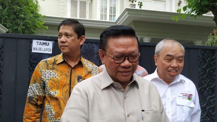 Agung Laksono Sambangi Kediaman Cawapres 01 Bahas Kunjungan di Barat Pulau Jawa