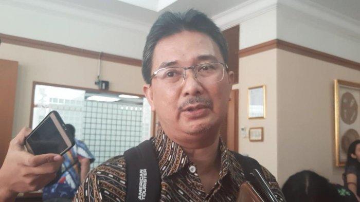 Ketua Umum Perhimpunan Dokter Paru Indonesia (PDPI), Agus Dwi Susanto saat ditemui di Kementerian Kesehatan, Jakarta Selatan, Rabu (15/1/2020).