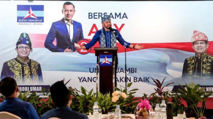 Ketua DPC Demokrat Kota Bogor : Iuran ke DPP untuk Sumbangan Korban Bencana Alam