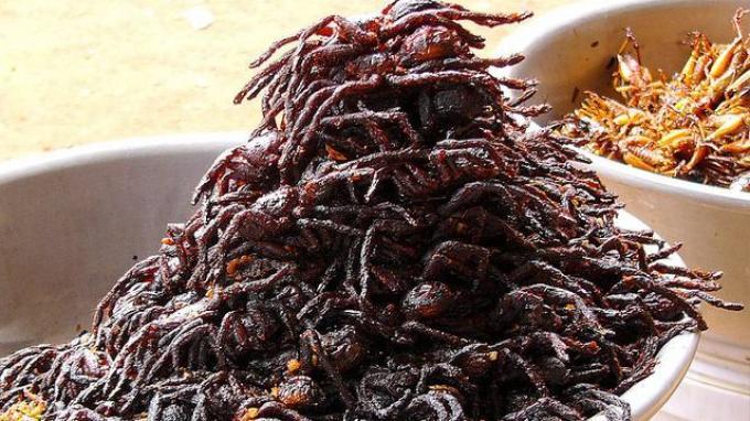 Daftar Kuliner Ekstrem di Asia, Terbuat dari Tarantula hingga Larva