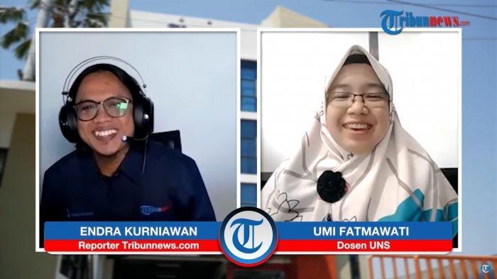 Ahli Mikrobiologi dari Universitas Sebelas Maret Surakarta, Dr Umi Fatmawati, S Pd, M Si