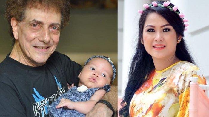 Ahmad Albar dan istri tercinta, Dewi Sri Astuti dan buah hati mereka