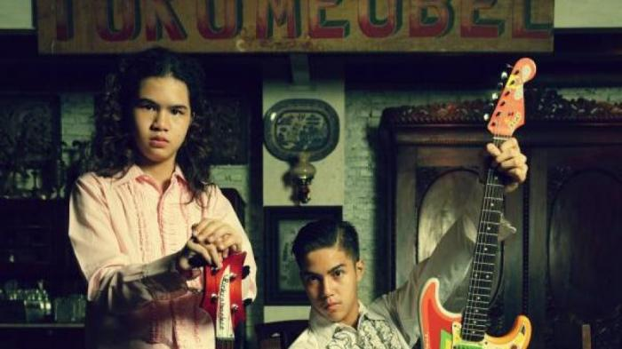 Band Ahmad Bersaudara Itu Rasa Retro Ala El dan Dul