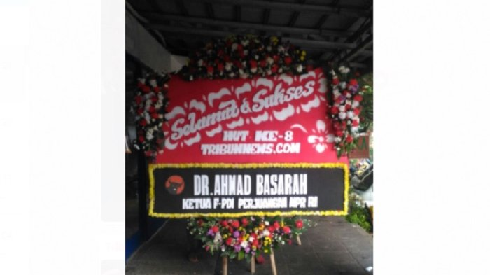 Ahmad Basarah Ucapkan Selamat HUT ke-8 Tribunnews.com