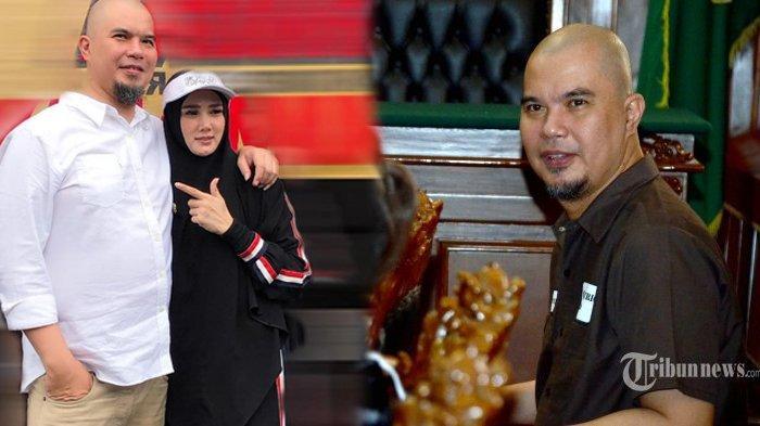 Ahmad Dhani bersama Mulan Jameela