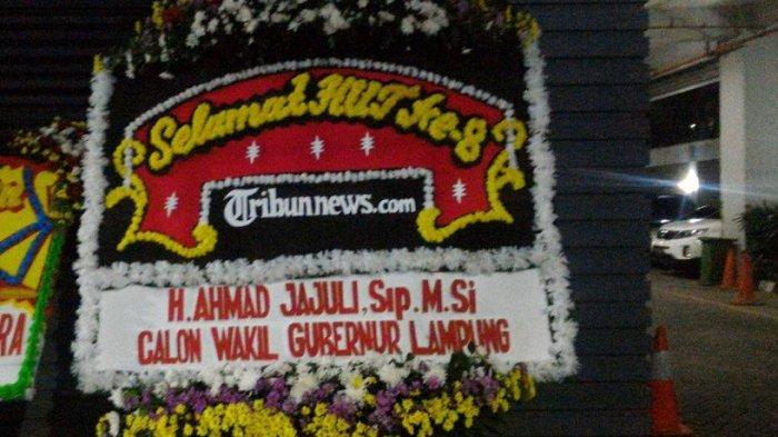 Calon Gubernur Lampung Ahmad Jajuli Ucapkan Selamat HUT ke-8 Tribunnews.com