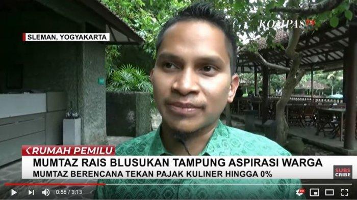 Ahmad Mumtaz Rais, Putra Ketiga Amien Rais Calonkan Bupati Sleman Pilkada 2020