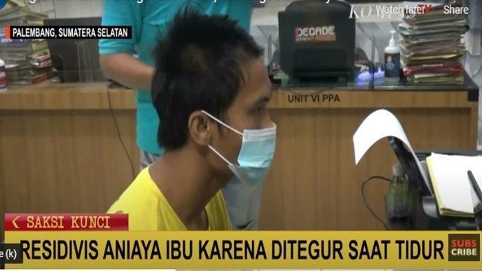 Pemuda di Palembang Ini hajar dan Lempari Kepala Ibunya dengan Batu Hingga Terluka