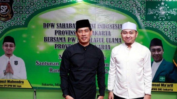 Bersama Sahabat Polisi DKI Jaya, Produser Ahmad Rifai Diajak Bagikan Santunan untuk Anak Yatim
