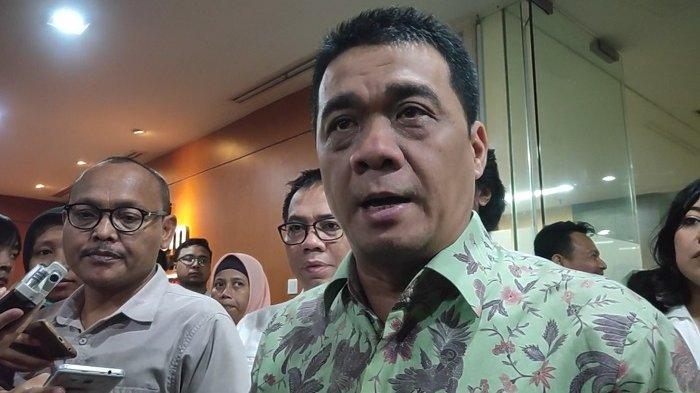 Politikus Gerindra sekaligus Calon Wakil Gubernur DK Jakarta Ahmad Riza Patria di DPRD DKI, Jakarta Pusat, Selasa (4/2/2020).