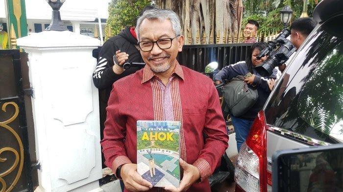 Cawagub DKI Ahmad Syaikhu sambangi rumah dinas Ketua DPRD Jakarta Prasetio Edi Marsudi