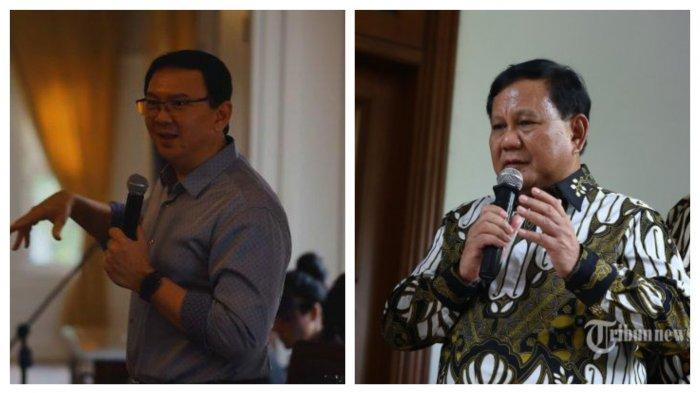 Ahok dan Prabowo.