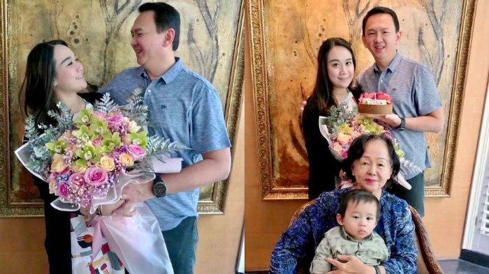 Surat Romantis Ahok untuk Puput yang Berulang Tahun: Terima Kasih Telah Menjadi Istriku