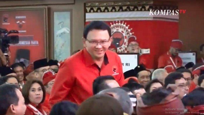 Ahok di Kongres PDIP di Bali