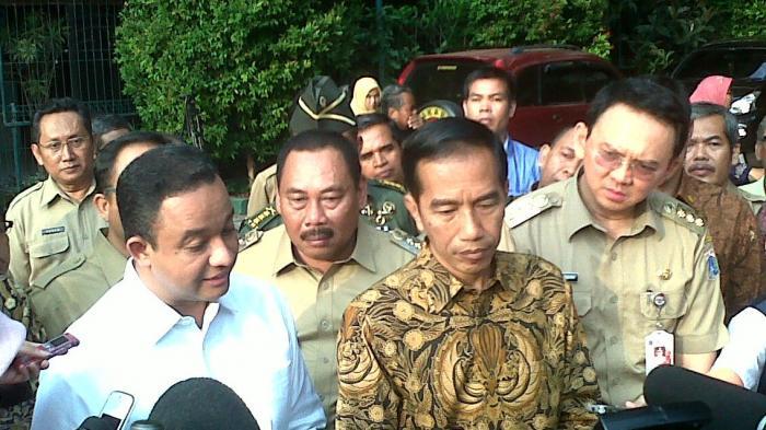 Ahok Bantah Pertemuannya dengan Ketua DPRD DKI di Istana Atas  Arahan  Megawati