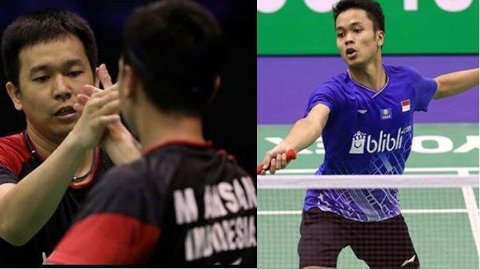 Ahsan/Hendra dan Ginting Tumpuan Utama Indonesia Raih Gelar Hong Kong Open 2019