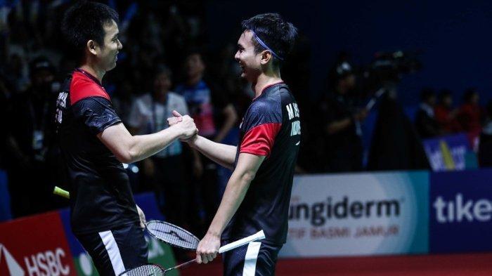 Hasil lengkap Indonesia Open 2019 hari ini, Jumat (19/7/2019), X wakil Indonesia lolos ke semifinal.