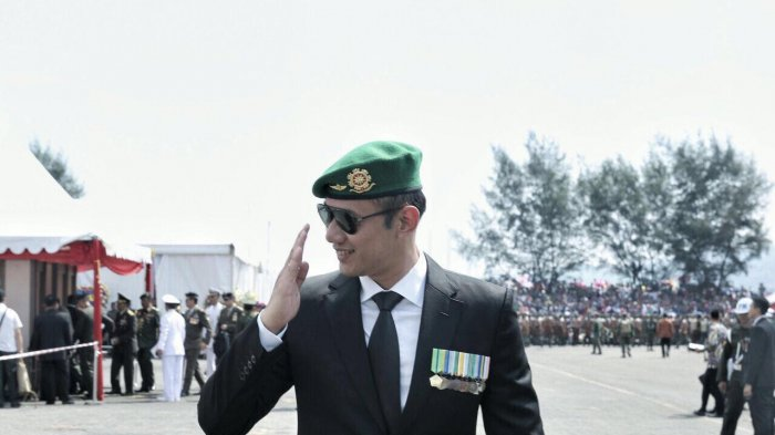 Hadiri HUT TNI Ke-72, Agus Yudhoyono: Saya Bangga Sekali 16 Tahun Menjadi Bagian TNI