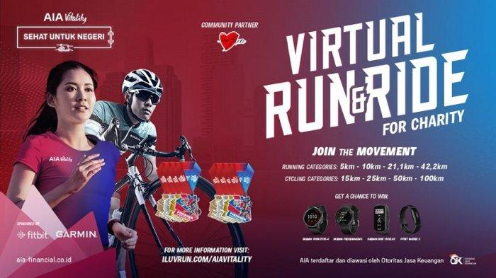 AIA Vitality Run & Ride Untuk Masyarakat yang Inginkan Pengalaman Olahraga Menarik dan Menantang