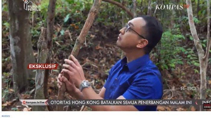 Ekslusif AIMAN yang ditayangkan Kompas TV, Senin (12/8/2019) malam mengenai tanaman bajakah yang diklaim menyembuhkan kanker.(KOMPAS TV)