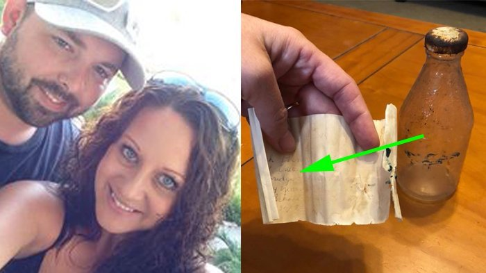 Temukan Surat dalam Botol, Wanita Ini Berusaha Cari Pemiliknya, Akhirnya 1 Misteri Terpecahkan