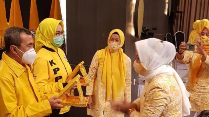 Pimpinan Pusat Hadiri Rakornis Pilkada dan Gerakan 3M yang Digelar KPPG dan AMPG Provinsi Riau