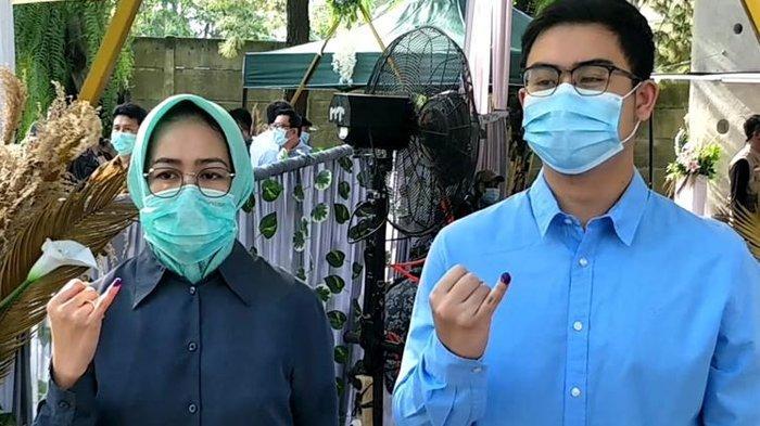 Harapan Wali Kota Tangerang Selatan Airin Rachmi Diany setelah Mencoblos di Pilkada Tangsel 2020