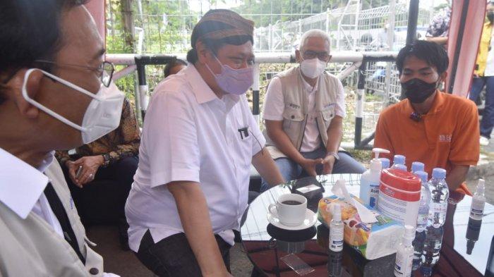 Menko Airlangga Kunjungi Usaha Alumni Prakerja di Yogyakarta