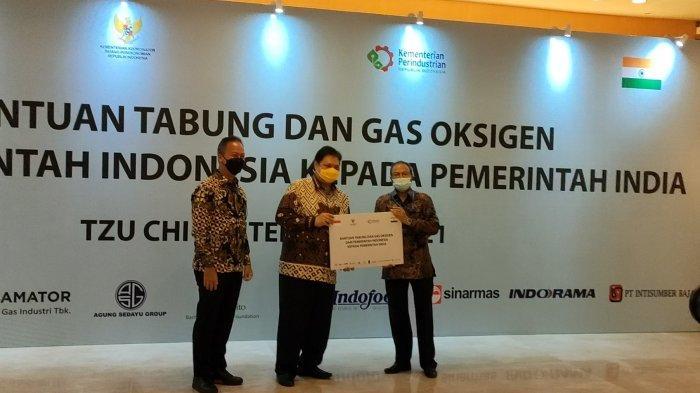 Bantu India Tanggulangi Pandemi Covid-19, Indonesia Kirim Lagi 2.000 Tabung Gas Oksigen