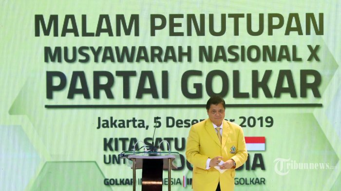 Alasan Airlangga Hartarto Pilih Luhut Binsar Panjaitan Jadi Ketua Dewan Penasihat Golkar