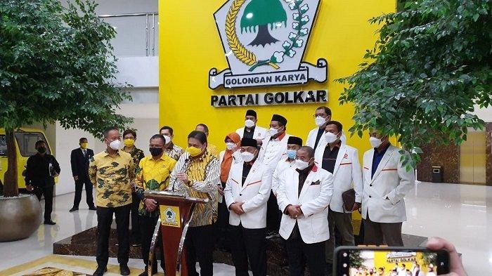 Usai Bertemu Syaikhu, Airlangga Hartarto Sebut PKS Dukung Kebijakan Pemerintah Larang Mudik 2021