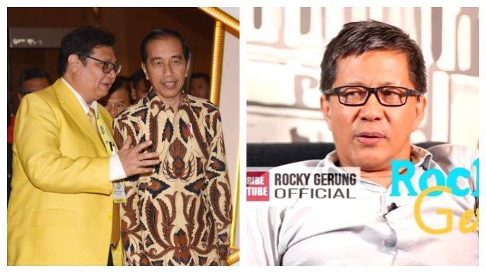 Rocky Gerung Yakini Pemilihan Ketum Golkar Sesuai Pesanan Istana: Sinyalnya Keras Sekali