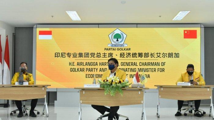 Airlangga Apresiasi Sinergi Pemerintah dan Rakyat China dalam Pembangunan