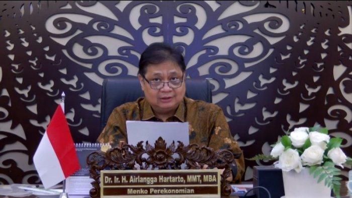 Ketua Komite Penanganan Covid-19 dan Pemulihan Ekonomi Nasional Airlangga Hartarto.