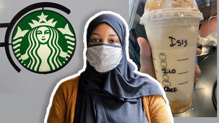 Pesan Minuman di Starbucks, Wanita Berhijab Ini Dapatkan Gelasnya Ditulis 'ISIS' oleh Barista