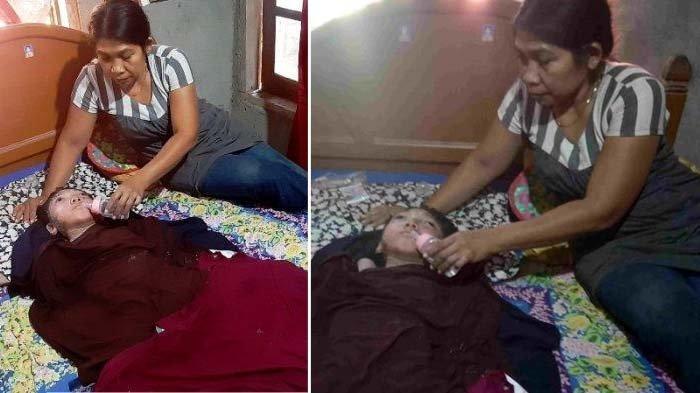 Siti Aisyah 15 Tahun Lumpuh, Sang Ibu Ungkap Putrinya Diikuti Nenek Tua Berambut Putih