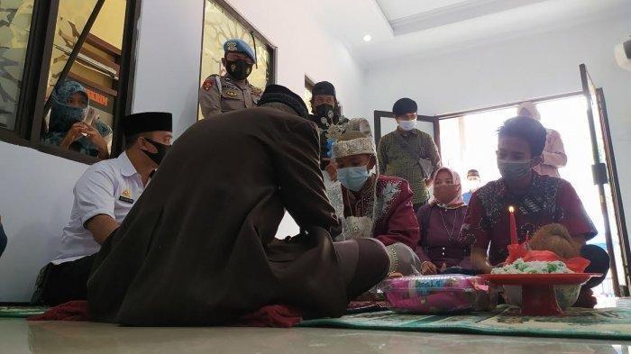 Terlibat Pengeroyokan, Seorang Tahanan Lakukan Ijab Kabul di Musala Kantor Polisi