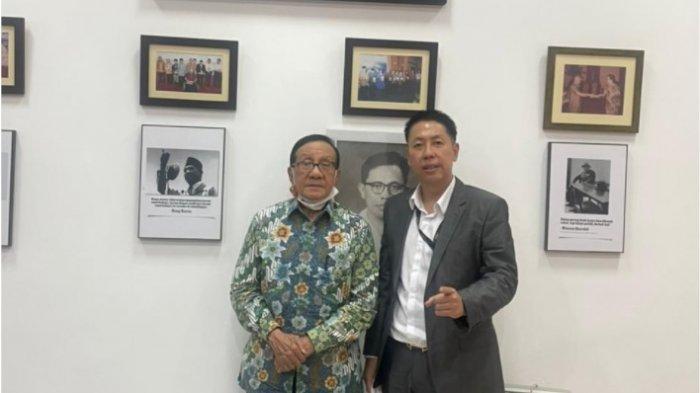 Henry Indraguna Temui Politisi Senior Golkar Akbar Tanjung, Ini yang Dibicarakan Keduanya